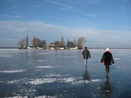 Winter am Steinhuder Meer